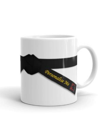 Mugs ceinture de judo personnalisables