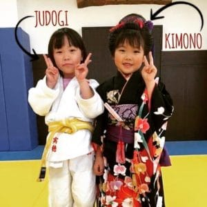 Kimono ou Judogi